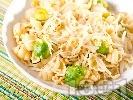 Рецепта Паста ньоки с брюкселско зеле и кимион